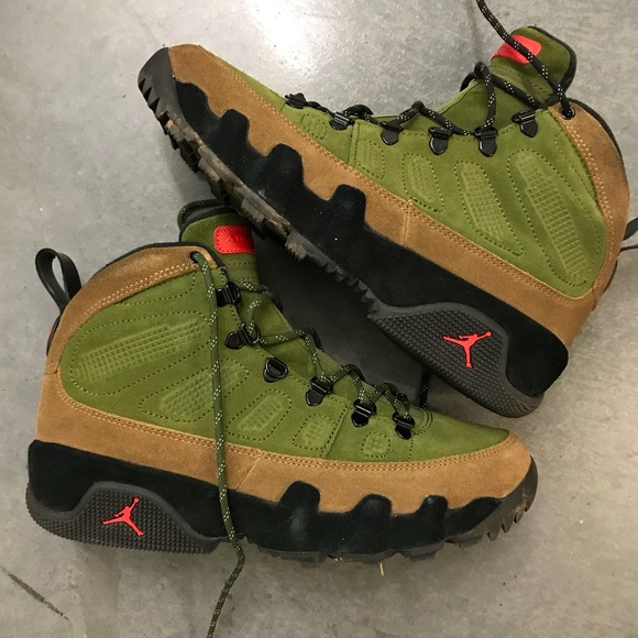 outlet store f5333 24c1c Jordan 9 Boot NRG Beef and Broccoli Sz 9
